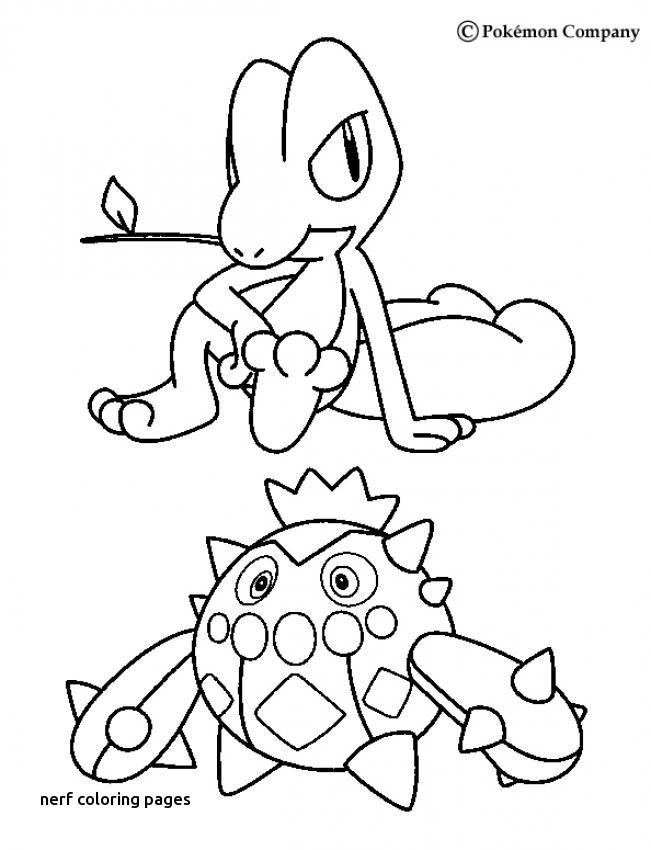 651x850 Gun Coloring Pages Lovely Best Pokemon For Nerf