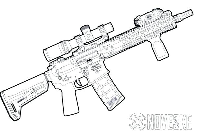 640x427 Revolver Coloring Pages Printable Nerf Gun Coloring Pages