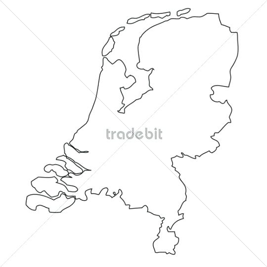 540x540 Maps Blank Map Of Netherlands In Coloring Pages For Kids Blank