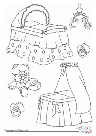320x452 Baby Colouring Pages For Kids