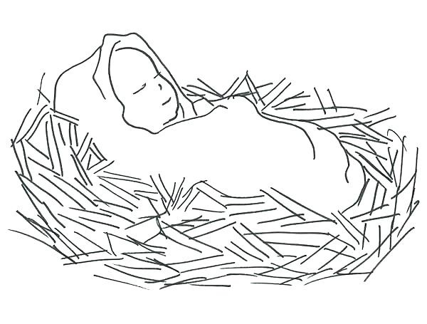 600x455 Beautiful Jesus Heals A Paralytic Coloring Page New Baby Coloring