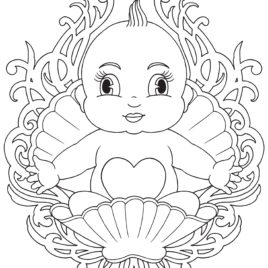 268x268 Baby Coloring Pages All About Coloring Pages