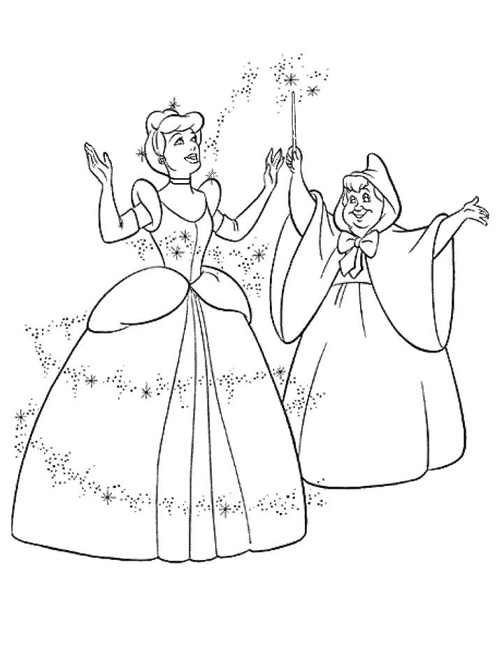 718x957 Cinderella Coloring Pages Luxury Princess Cinderella Coloring