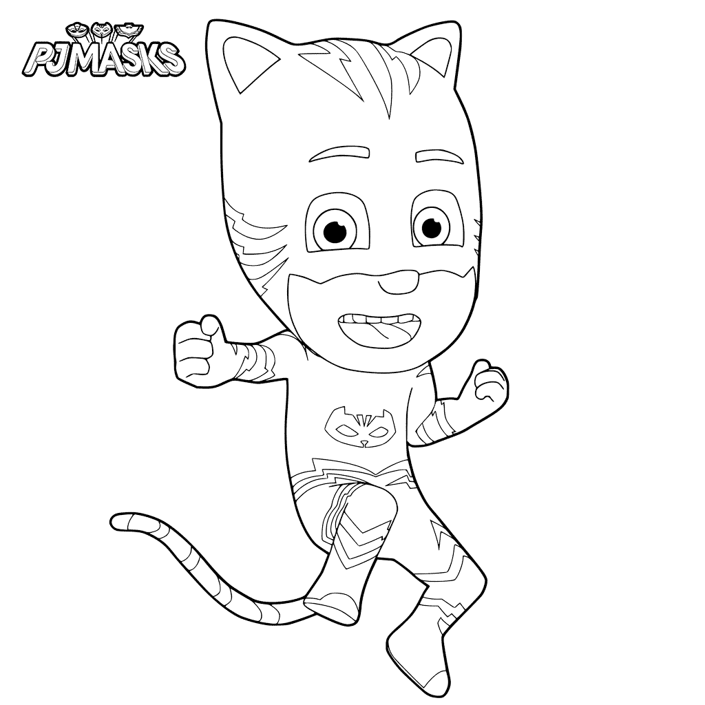 1024x1024 New Coloring Pages Pj Masks