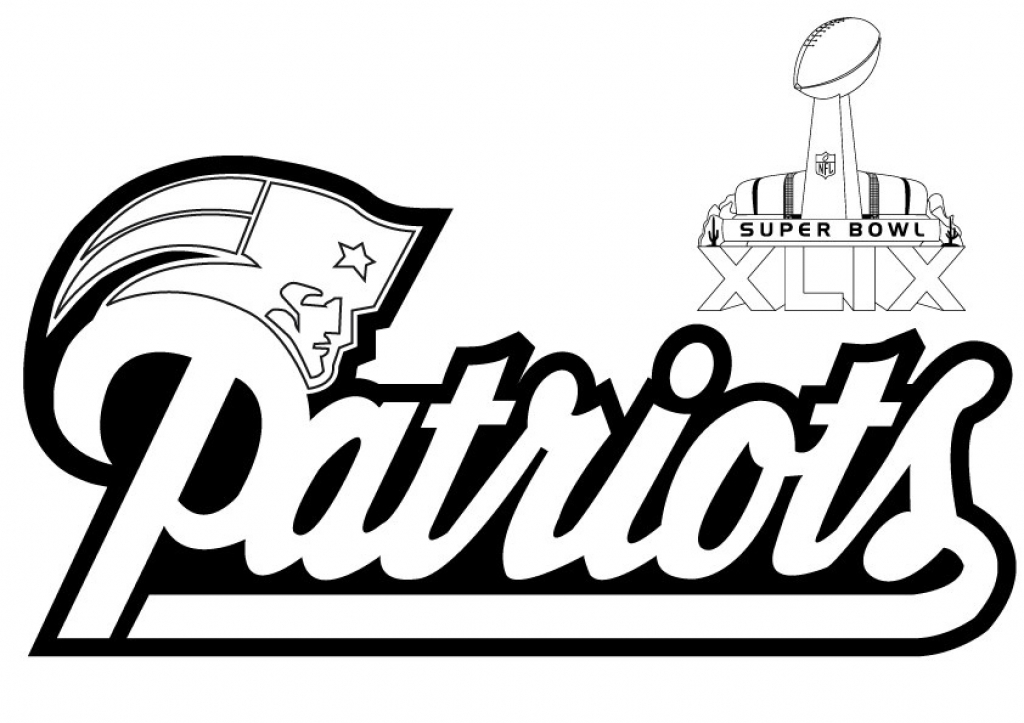 1024x723 New England Patriots Coloring Pages