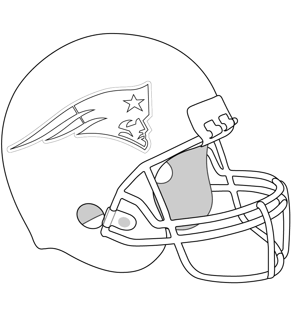 1005x1081 Free Printable New England Patriots Coloring Pages