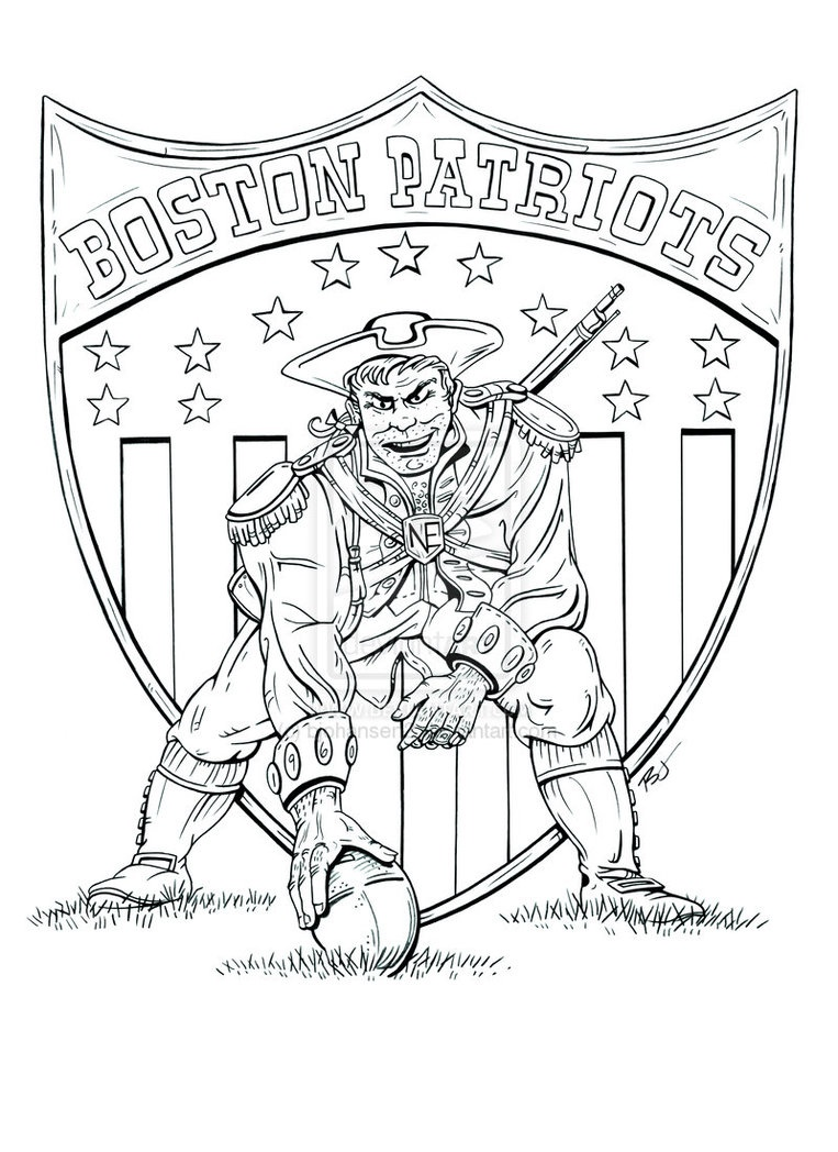 763x1048 New England Patriots Logo Coloring Pages