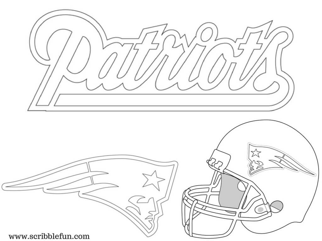 1024x768 Patriots Logo Coloring Pages New England Sheets Remarkable