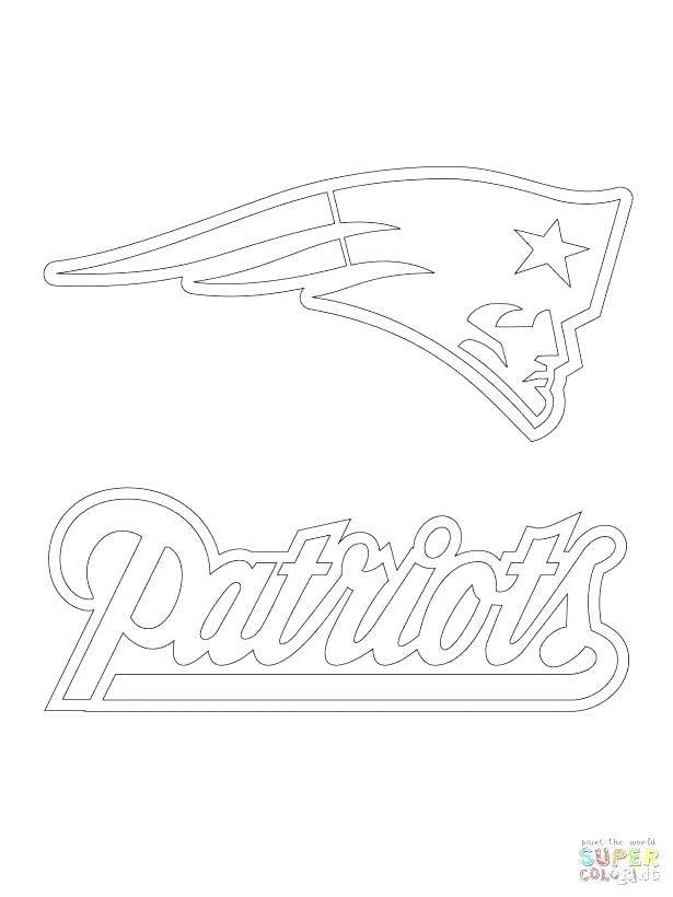 615x820 New England Patriots Printable Coloring Pages