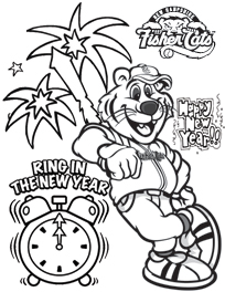 204x264 Coloring Pages New Hampshire Fisher Cats For Kids