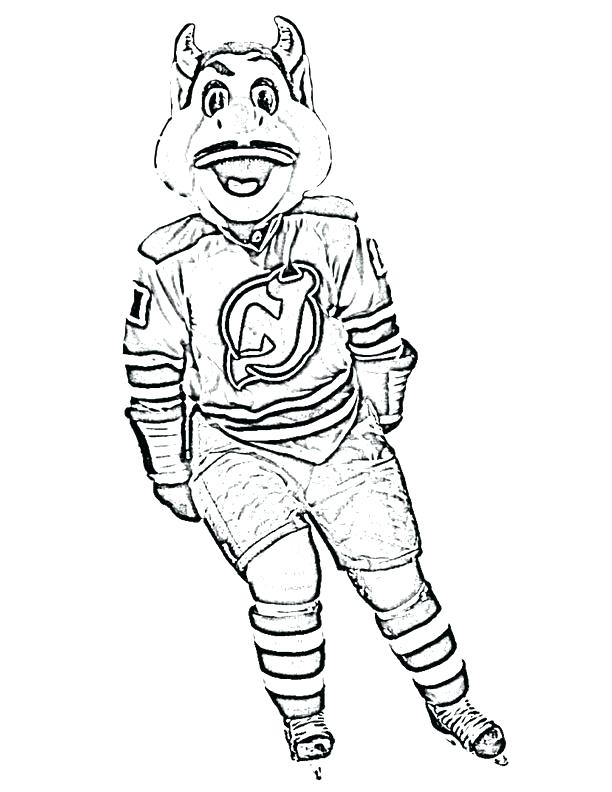 612x792 Nhl Logo Coloring Pages Logo Coloring Pages New Jersey Devils Logo
