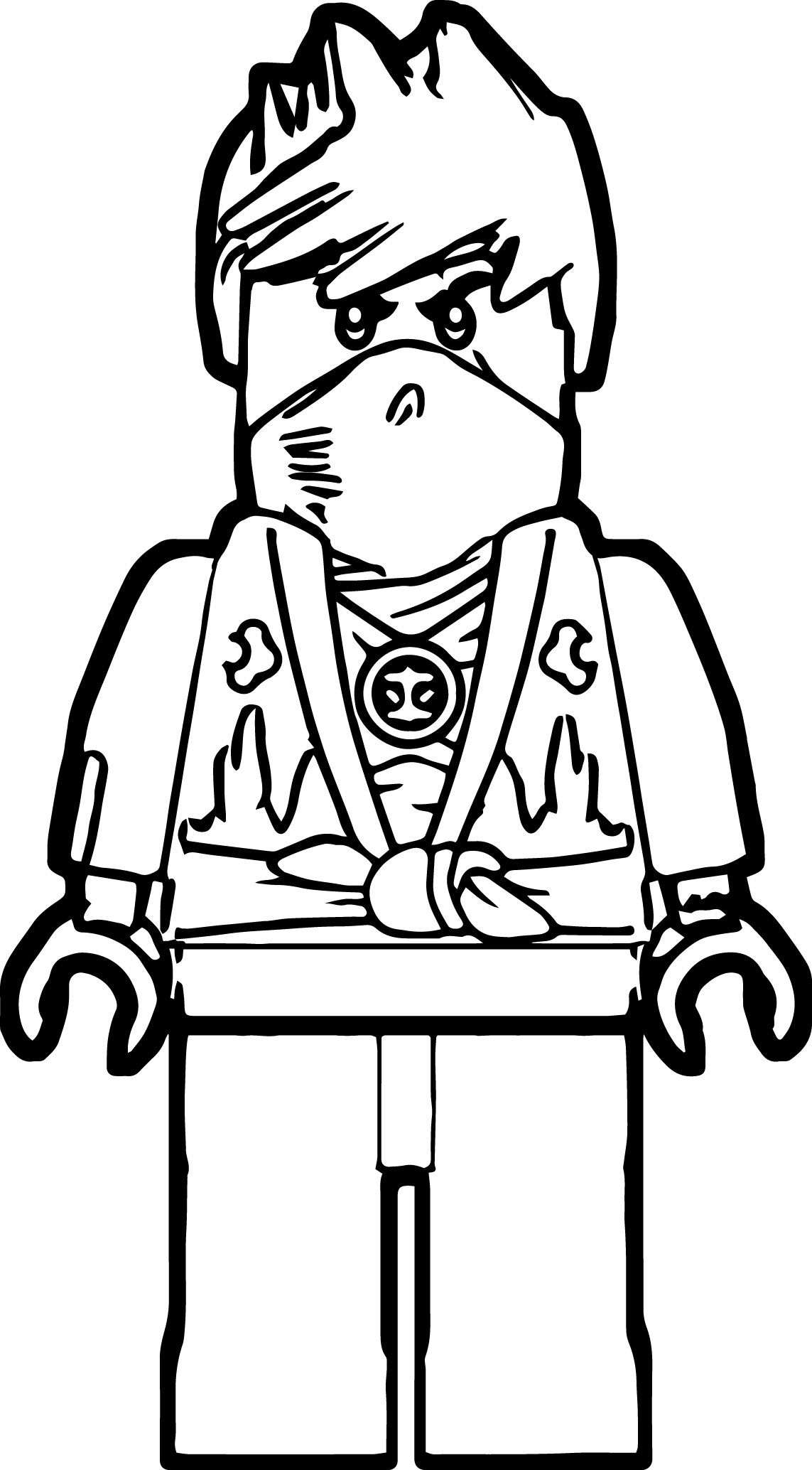New Ninjago Coloring Pages at GetDrawings | Free download