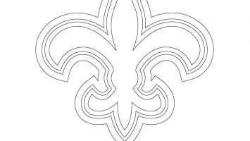 Logo of New Orleans Saints, american football team in the NFC ... | 200x355