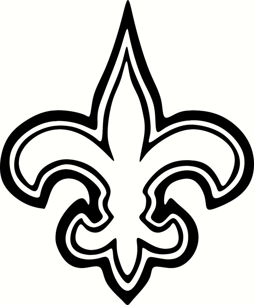 New Orleans Saints Coloring Pages at GetDrawings | Free ...