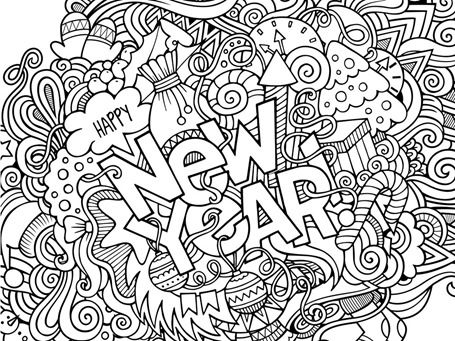 455x341 New Year Coloring Pages Free Coloring Printables
