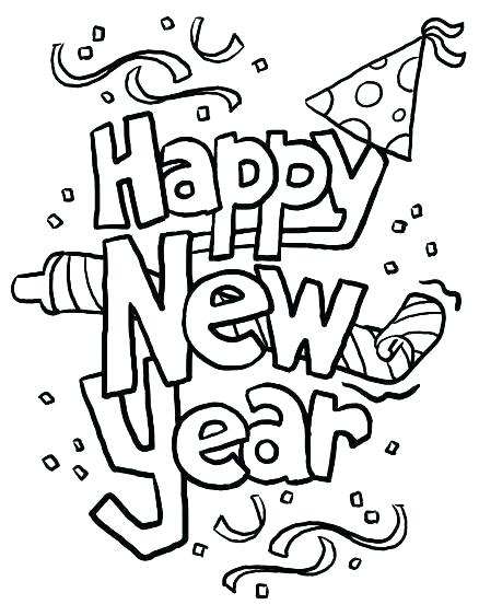 438x563 New Years Coloring Pages Inspirational Design Ideas New Years