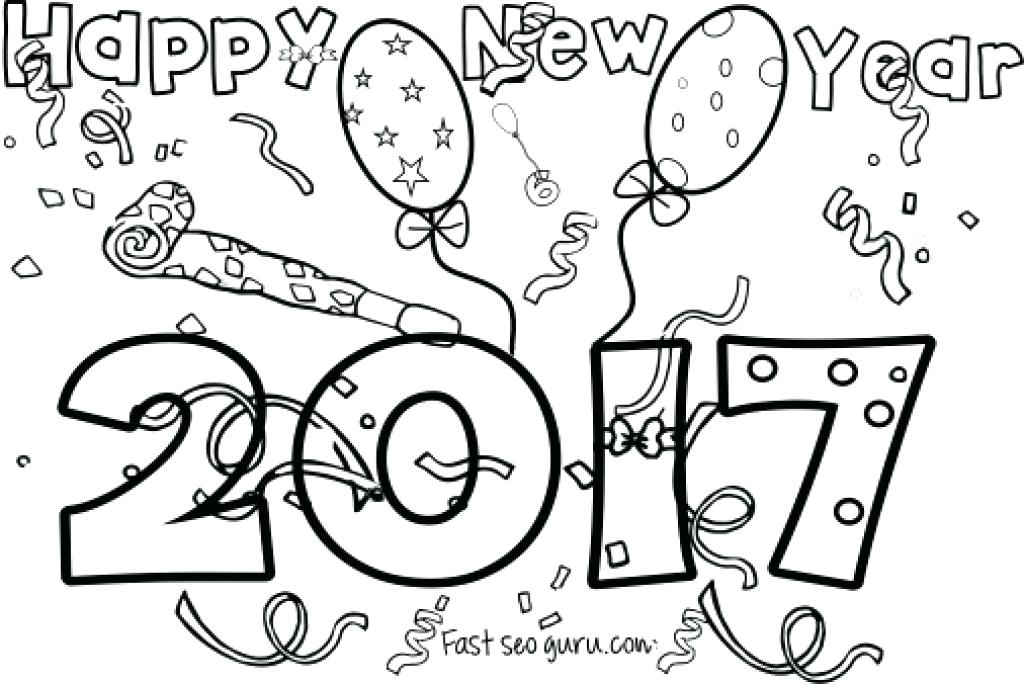 1024x684 Happy New Year Coloring Pages Pdf Icontent