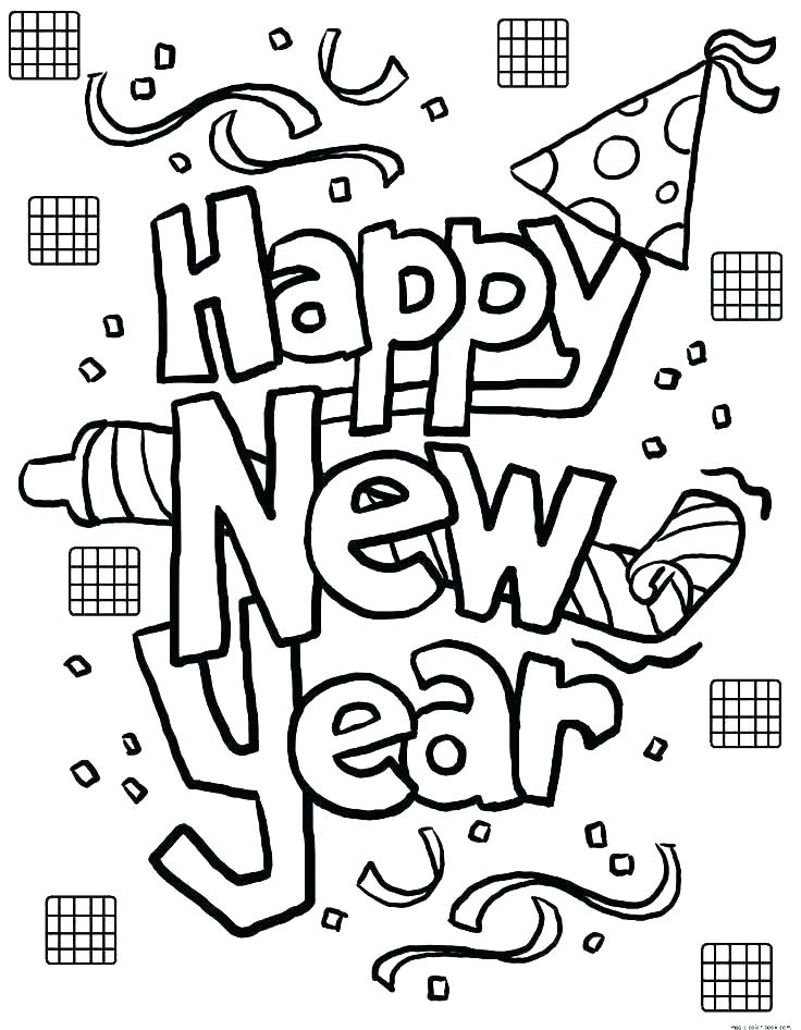 736x946 New Years Coloring Pages Detail Coloring Pages Free New Years Day
