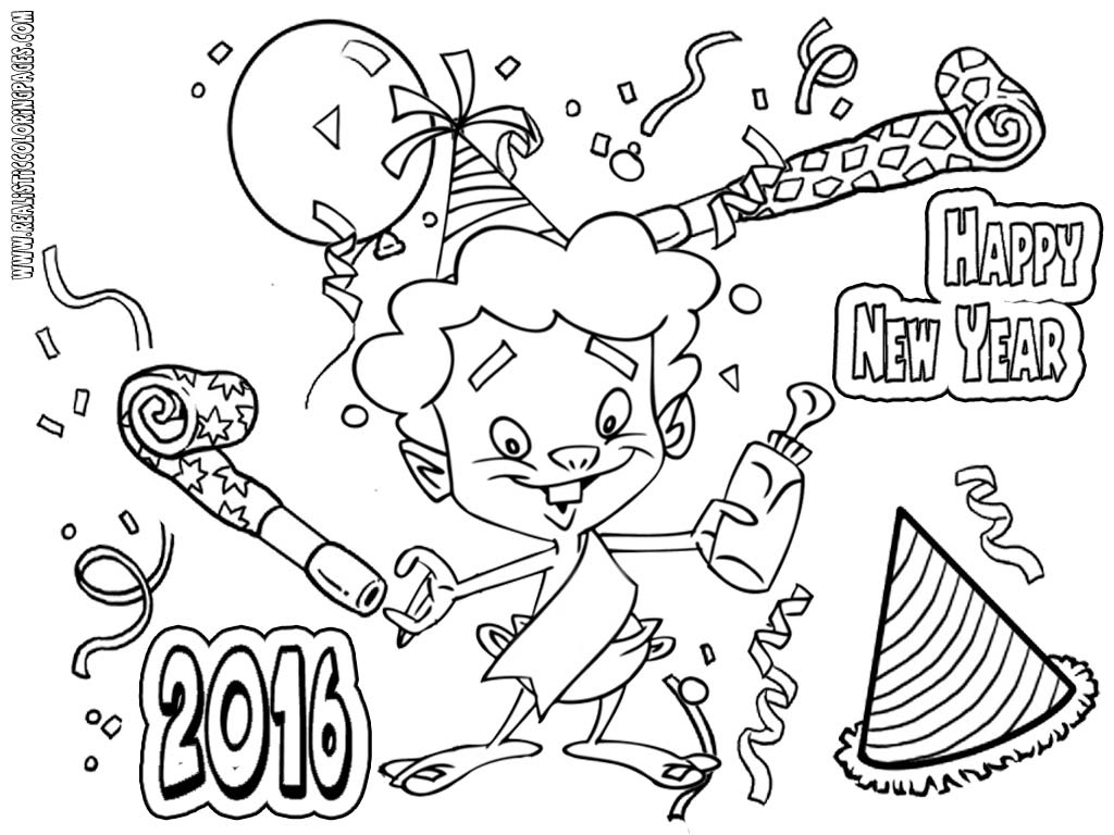 1024x768 New Years Coloring Pages Elegant New Years Eve Coloring Pages Free