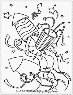 236x310 Happy New Year Coloring Pages To Print Classroom