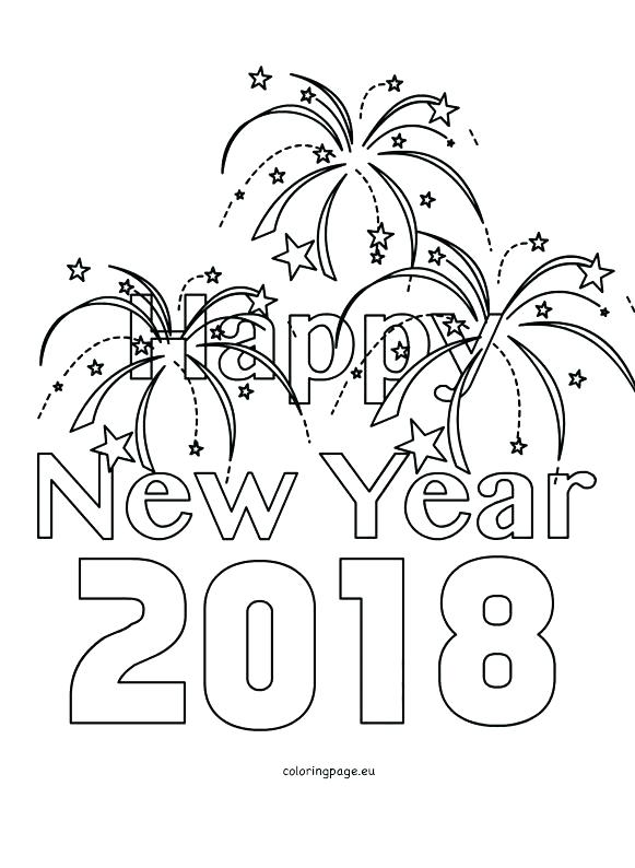 581x794 Happy New Years Colouring Pages Kids Coloring New Years Printable