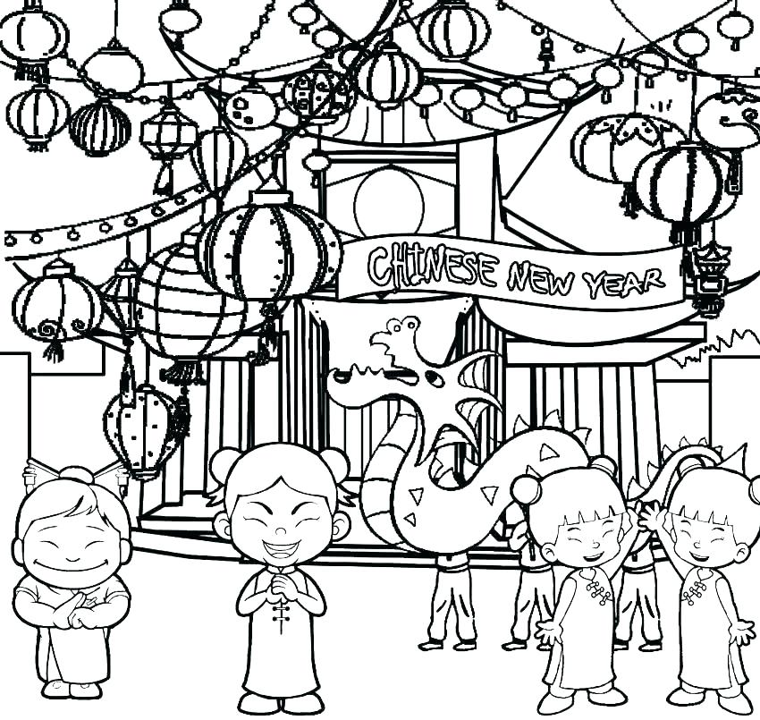 850x805 New Years Coloring Pages New Years Eve Coloring Pages Printable