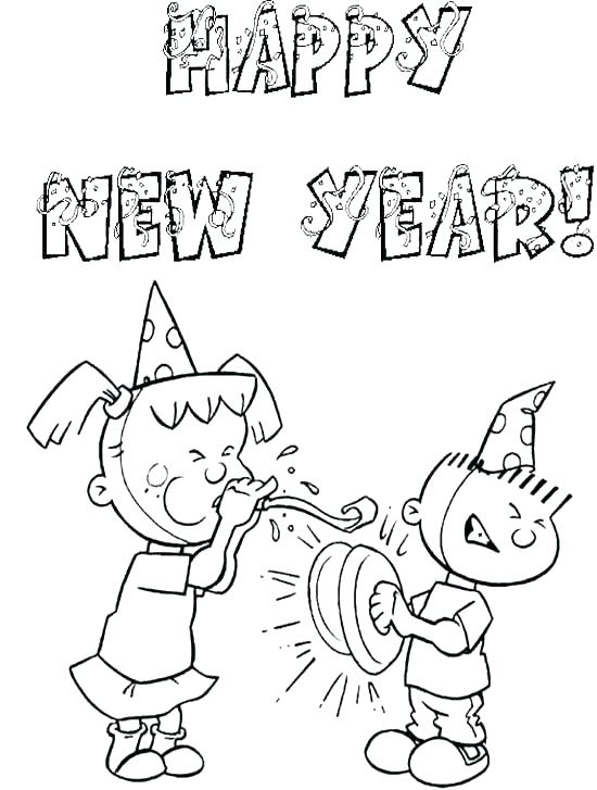 550x727 New Years Coloring Pages Printable New Years Coloring Pages Year