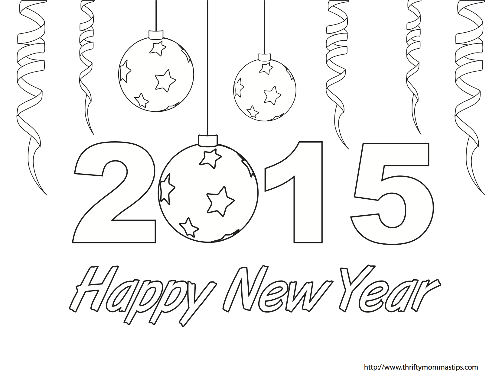 1650x1275 Coloring Pages For New Years