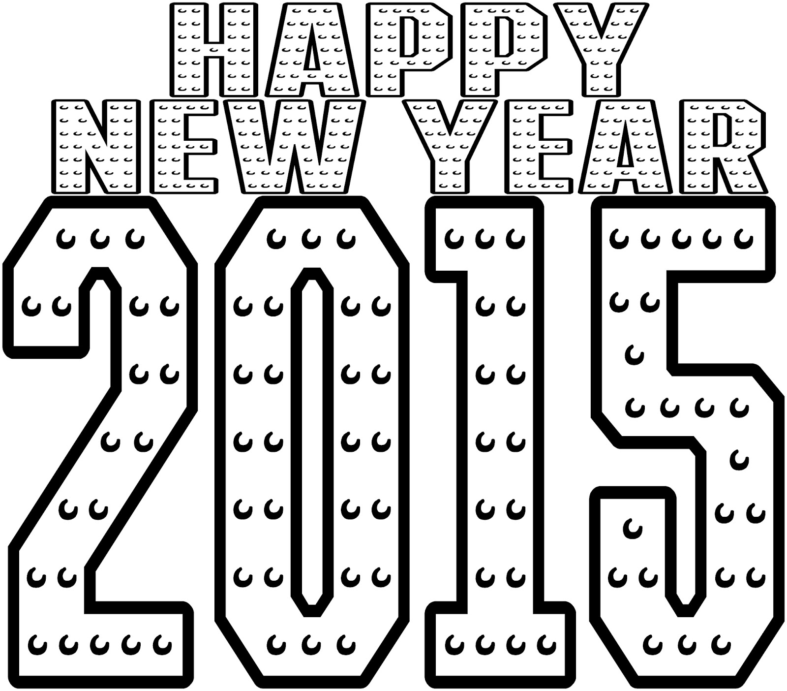 New Years Coloring Pages 2016 at GetDrawings.com | Free for ...