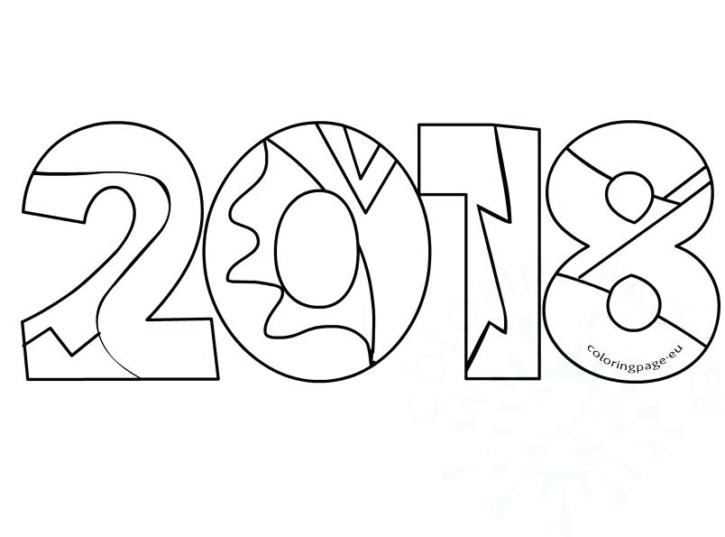804x595 New Years Coloring Pages New Years Printable Coloring Pages New
