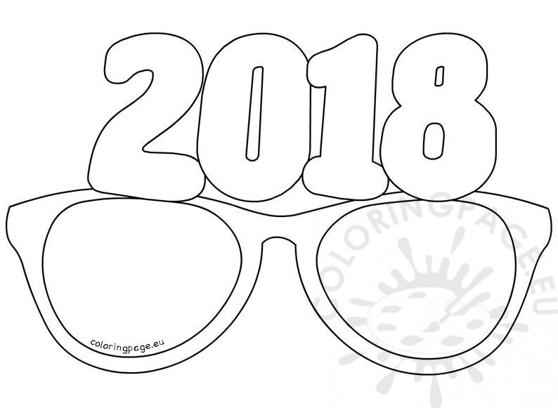 794x581 New Year Coloring Pages Template And Printable For Kids