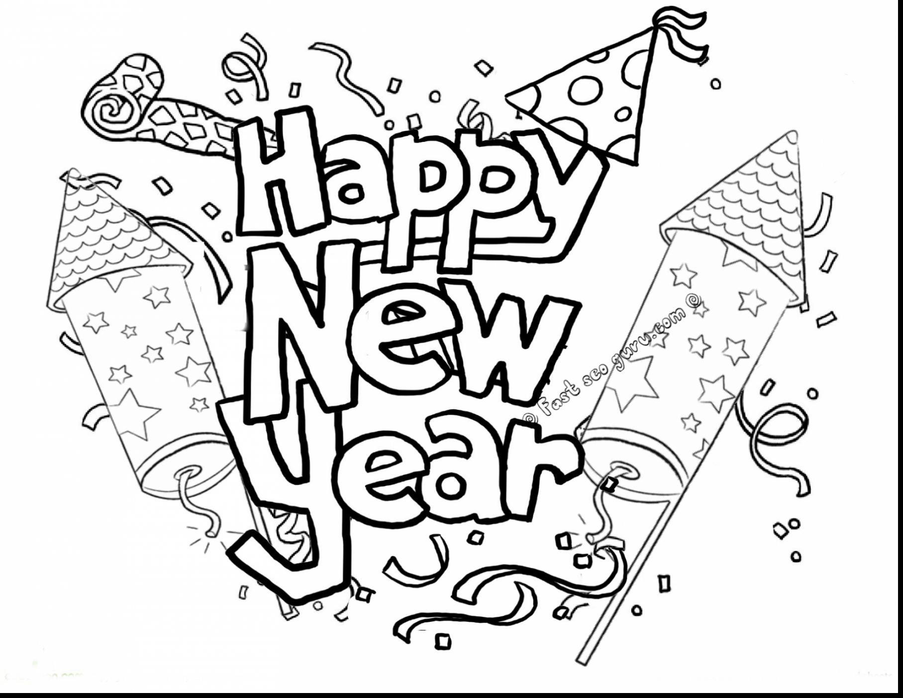 1815x1402 Direct Happy New Year Coloring Pages Chin