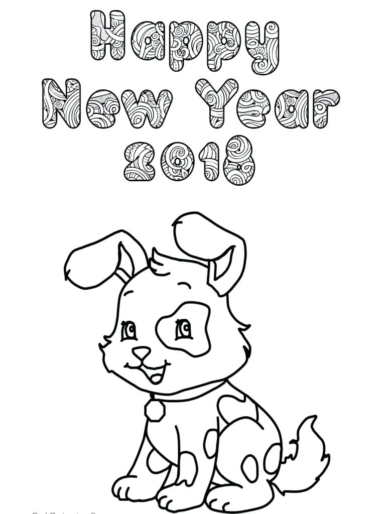 765x1024 New Year Coloring Pages Free Printables New Year Coloring Page New