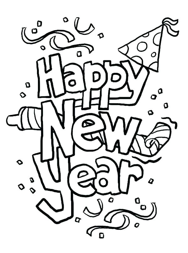 600x806 New Years Color Sheets New Years Coloring Pages And Book Coloring
