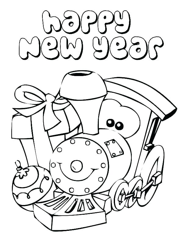 600x799 New Years Coloring Pictures Happy New Years Coloring Pages Happy