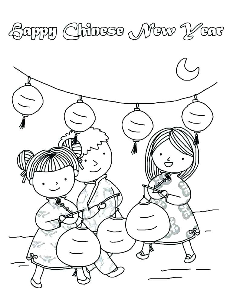 750x1000 New Years Printable Coloring Pages Free Printable New Years