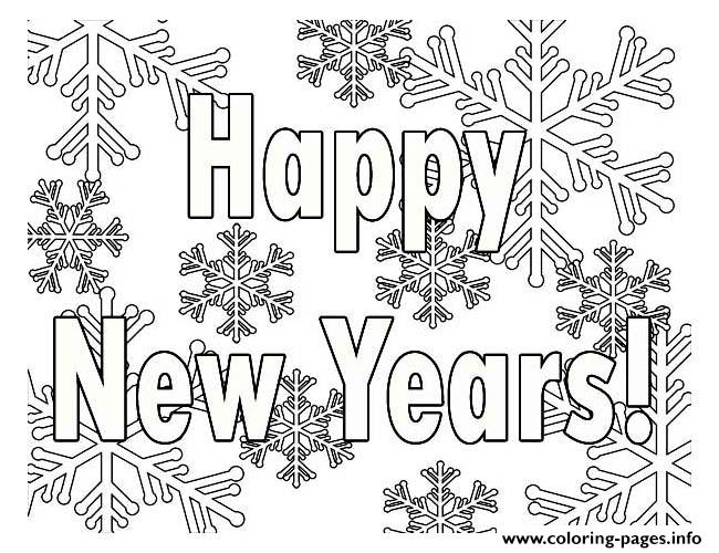 650x500 New Years Coloring Pages New Year Coloring Pages Free Printable
