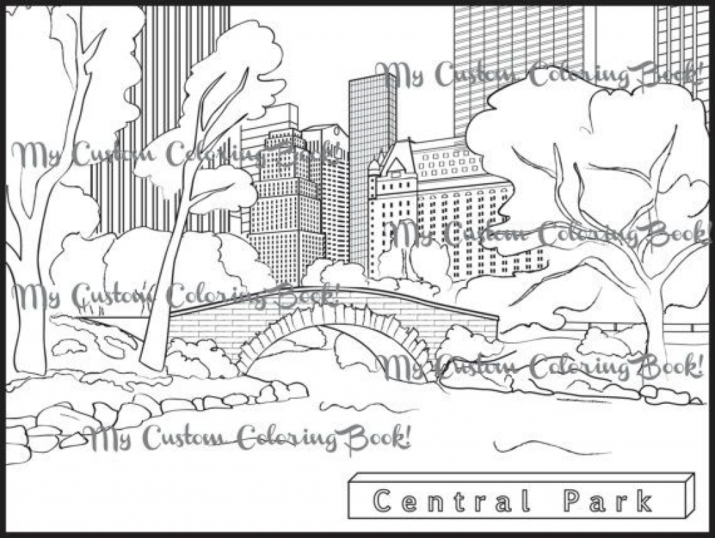 1024x770 New York Coloring Pages