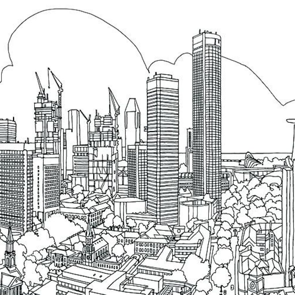 New York Coloring Pages At Getdrawings Free Download