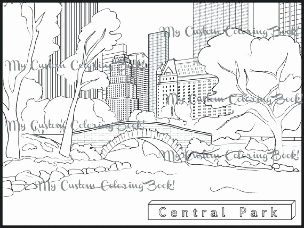 New York Coloring Pages At Getdrawings Com Free For Personal Use