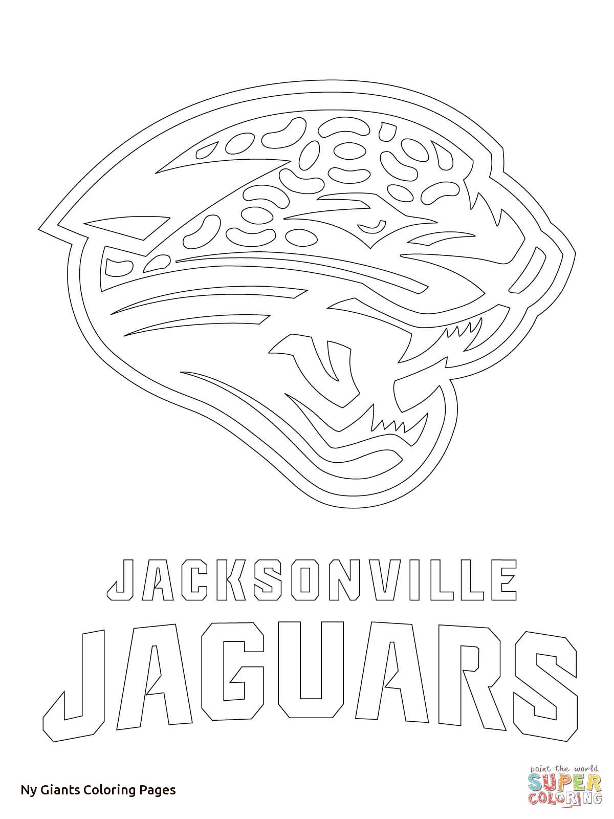 New York Giants Coloring Pages At Getdrawings Com Free For