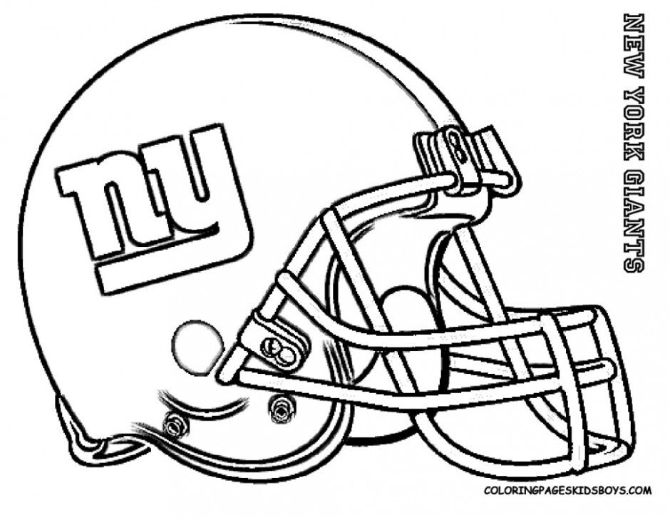 940x726 New York Giants Football Coloring Pages Coloring Pucs