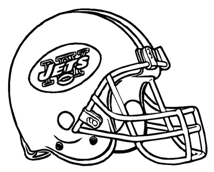 700x565 Football Helmet New York Jets Coloring Page Kids Coloring Pages