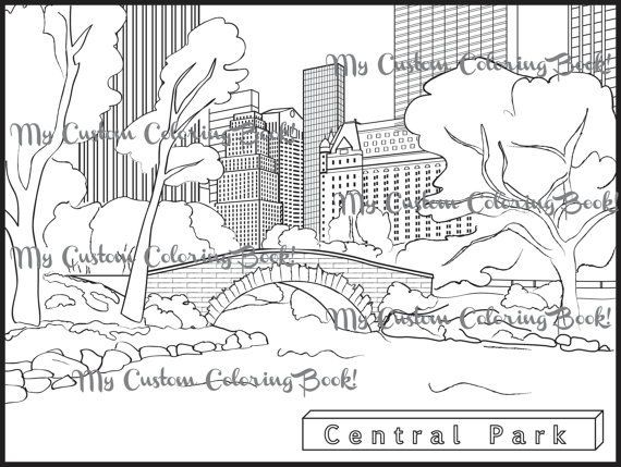 570x429 New York Coloring Pages Printable Elegant New York Skyline