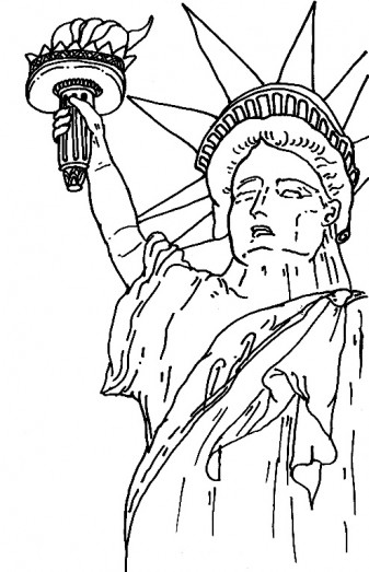 337x523 New York Coloring Pages New York City Coloring Pages Printable