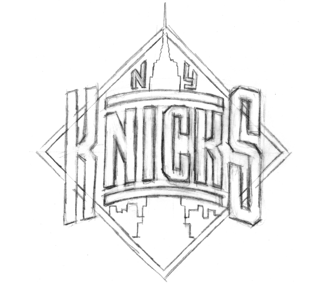 1100x953 New York Knicks Coloring Pages