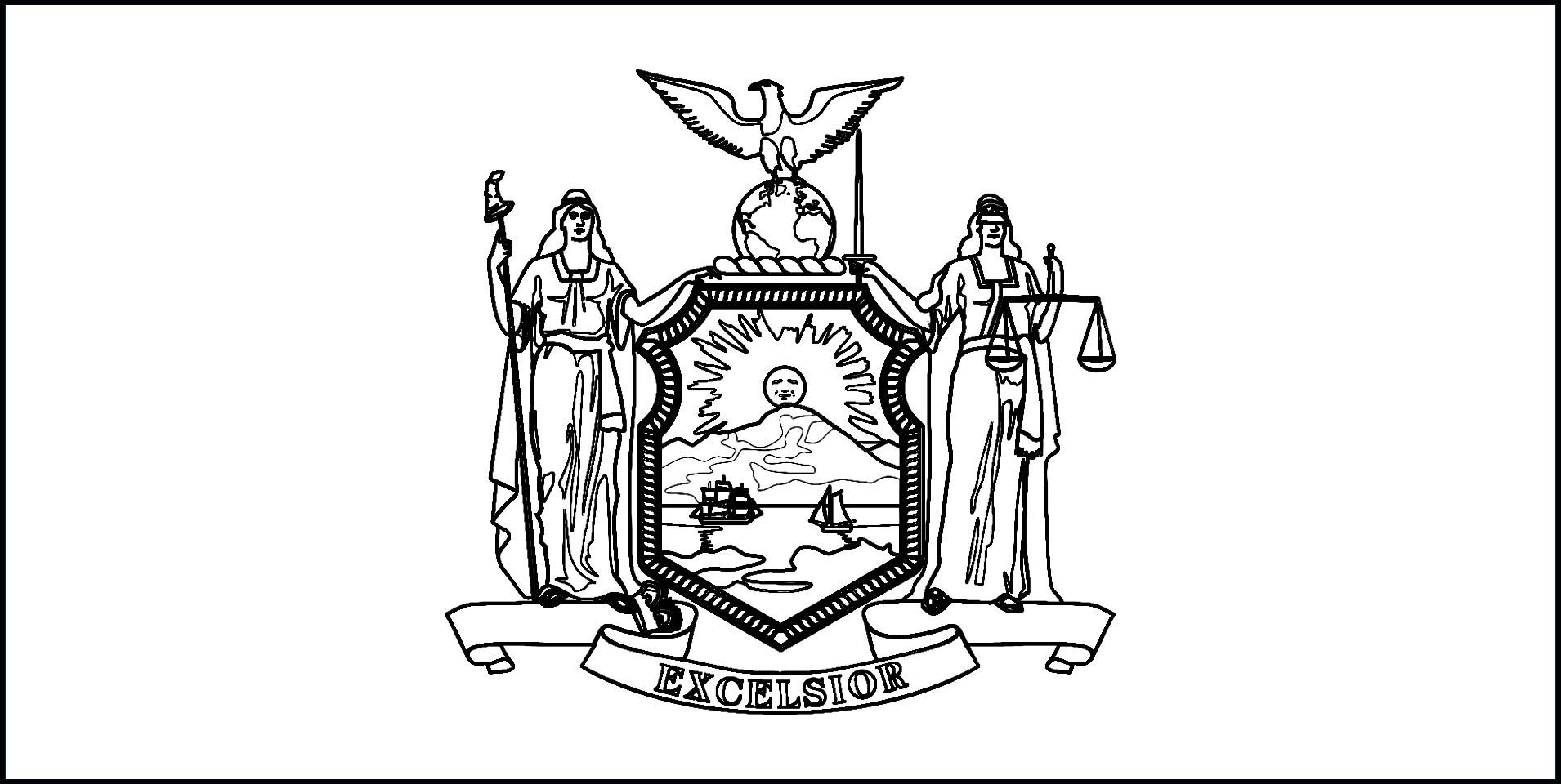 1910x960 Incredible New Jersey Symbols Coloring Page Of York State Flower