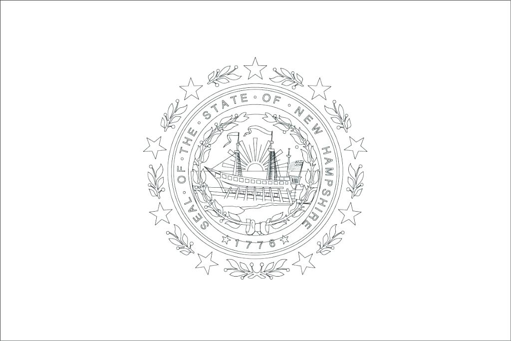 New York State Flag Coloring Page At Getdrawings Com Free For