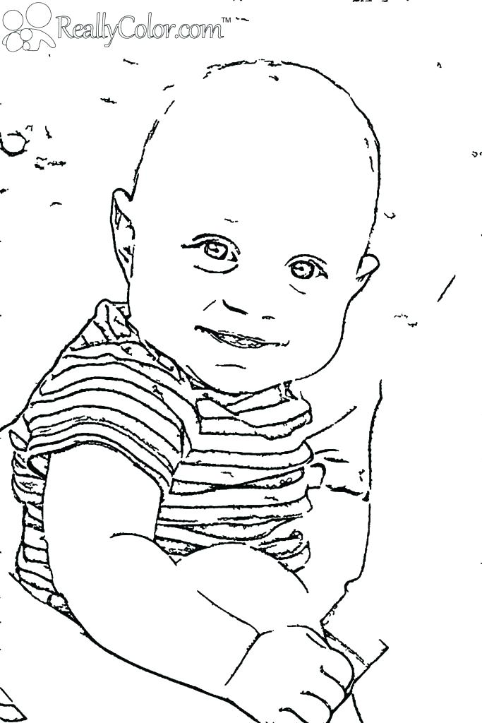 Newborn Coloring Pages
