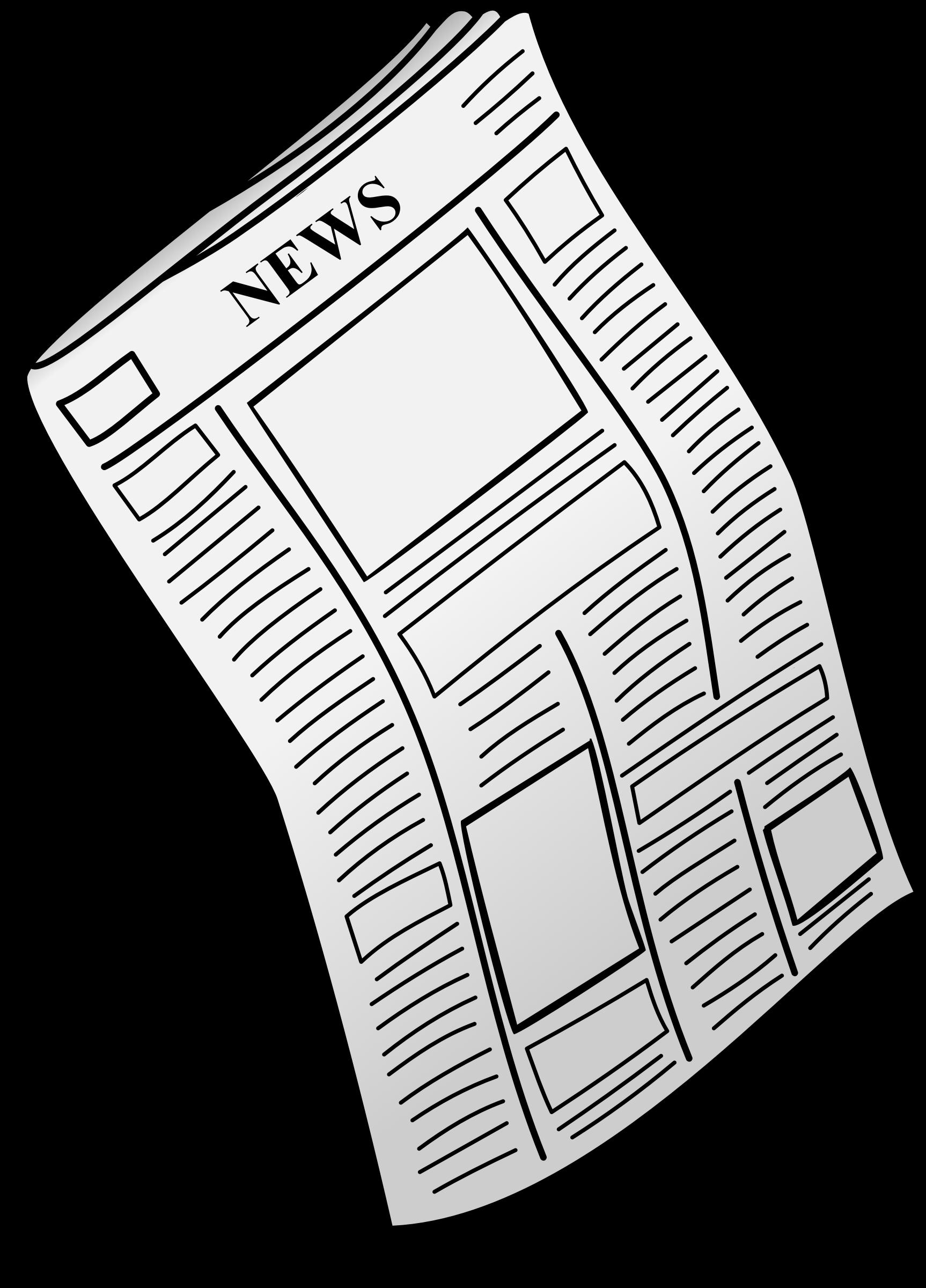 1726x2400 Plain Ideas Newspaper Clipart